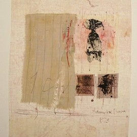 Hannelore Baron - untitled (C78 01), 1978, mixed media on paper