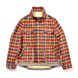 WHITE MOUNTAINEERING - GORE-TEX WOOL NYLON CHECK WORK JACKET