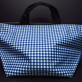 Herve Chapelier - gingham tote