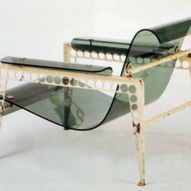 Jean Prouve - Garden Furniture for UAM Exhibition, ca 1937