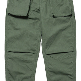 Engineered Garments - NORWEGIAN PANT - OLIVE COTTON RIPSTOP