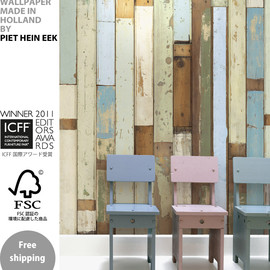 PIET HEIN EEK - 壁紙 SCRAPWOOD WALLPAPER