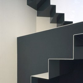 Alphaville Architects - Stairs at W-Window House
