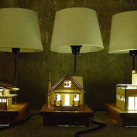 Lauren Daley - House-Lamp