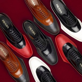 PRADA - 2012 Fall/Winter Lace-Up Shoes