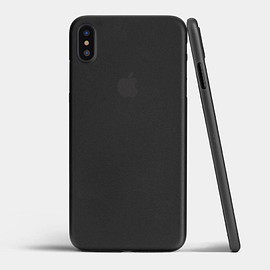 totallee - Ultra thin iPhone XS Max case by totallee, Frosted Black