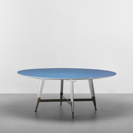 GIO PONTI - important dining table from Villa Arreaza, Caracas
