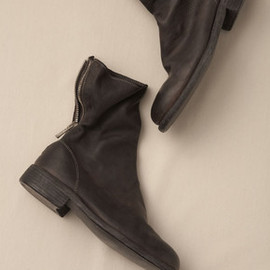 GUIDI - Back Zip Boots