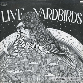 The Yardbirds ‎ - Live Yardbirds (Featuring Jimmy Page) (Vinyl,LP)