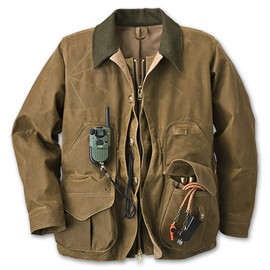Filson - Tin Cloth Field Coat with Zipper