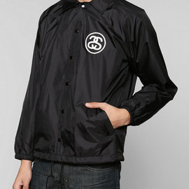 urban outfitters, Stussy - Croc Coaches Jacket - Black/White