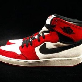 Nike - NIKE AIR JORDAN 1 RETRO KO HIGH WHITE/BLACK-GYM RED