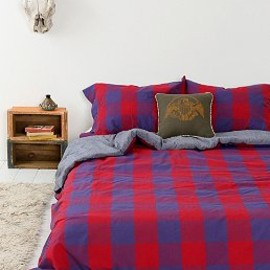 urban outfitters - 4040 Locust Buffalo Plaid Duvet Cover