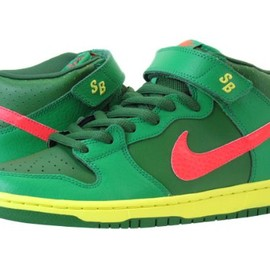 NIKE SB - NIKE DUNK MID PRO SB 【WATERMELON】 GREEN/RED/YELLOW