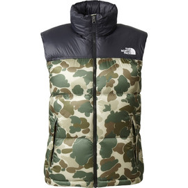 The North Face - Nuptse Vest タンカモフラージュ