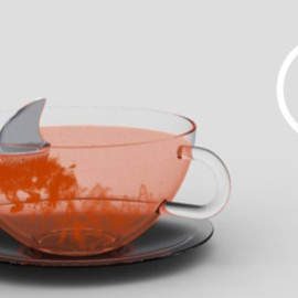 Sharky Tea Bag