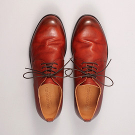 PADRONE - DERBY PLAIN TOE SHOES / JACK