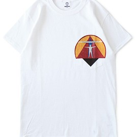 TOGA ODDS&ENDS - RUBBER Pocket Tee (white)