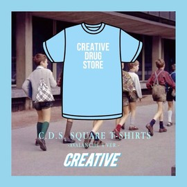 CREATIVE DRUG STORE - C.D.S. SQUARE T-SHIRTS