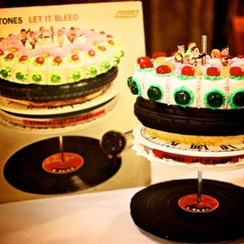 Rolling Stones Cake   Let It Bleed
