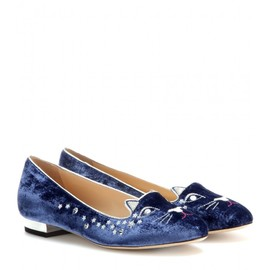 Charlotte Olympia - Party Kitty slippers