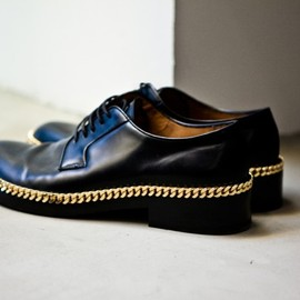 RAF SIMONS - 2012 Spring/Summer Chain Oxford
