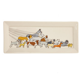 fishs eddy - dog walker tray