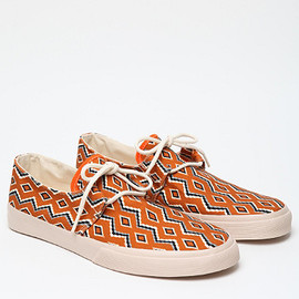 YMC - Navajo Canvas Shoes in Orange