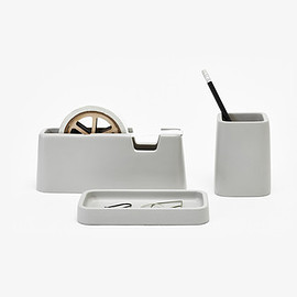 Areware - Concrete Desk Set