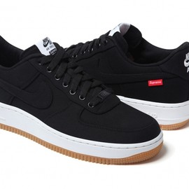 Supreme, Nike - Air Force 1 - Black
