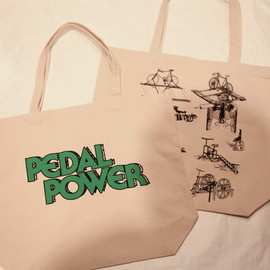 2-TACS - Pedal power project Tote bag