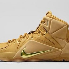 Nike - NIKE LEBRON XII EXT QS WHEAT/METALLIC GOLD-WHEAT