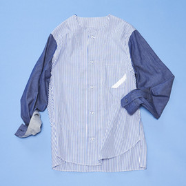 PHINGERIN - NO COLLAR SHIRT