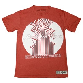 atoms for peace - LASTING PEACE RED T-SHIRT