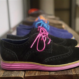 cole haan - cole haan lunargrand wingtip shoes