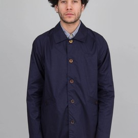 Folk - Light Rainmac - Navy