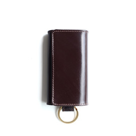 Whitehouse Cox - S9692 KEY CASE with RING/Havana