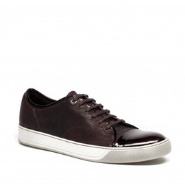 LANVIN - Leather low top sneakers
