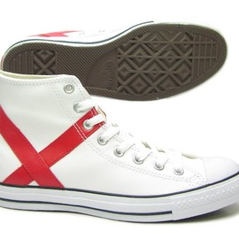 CONVERSE - CONVERSE LEATHER ALL STAR SP HI [W-CUP/England]