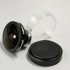 IZAWAOPT - Fisheye Conversion Lens for Smart Phone