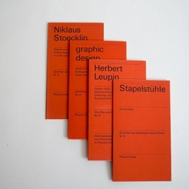 Emil Ruder - Basel School of Design Handbooks