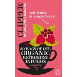 clipper - organic infusion red fruits with aronia berry