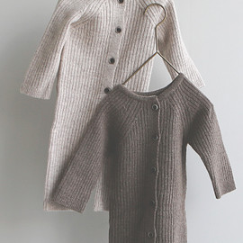 monmimi - knit baby suits