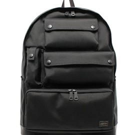 White Mountaineering×PORTER - B印 YOSHIDA(BEAMS×PORTER)(ビージルシヨシダ)のWhite Mountaineering×PORTER 14AW BACK PACK(バックパック/リュック)|ブラック