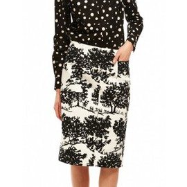 SUNO - PATCH POCKET PENCIL SKIRT