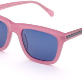 KAREN WALKER - Deep Freeze Sunglasses in Milky Pink
