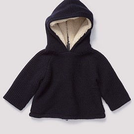Caramel Baby&Child - Winterfold Baby Hoodie, Navy