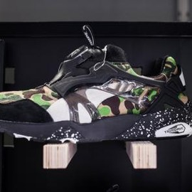 PUMA - A BATHING APE × PUMA DISC BLAZE