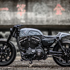HARLEY-DAVIDSON - ROUGH CRAFTS' HARLEY FORTY-EIGHT