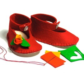 supernana - BABY SHOES KIT